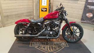 2. 2018 Harley-Davidson Sportster Iron 883 XL883N-Wicked Red