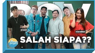 Video POV - VIA VALLEN VS JERINX SID : SALAH SIAPA?? feat. GLENN FREDLY & TOMPI MP3, 3GP, MP4, WEBM, AVI, FLV Februari 2019