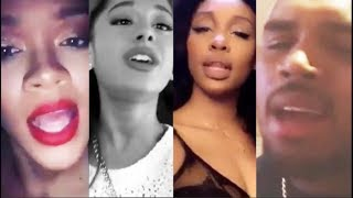 Video Celebrities singing with their REAL VOICE (Rihanna, Ariana Grande, SZA, Chris Brown, and more) MP3, 3GP, MP4, WEBM, AVI, FLV September 2018