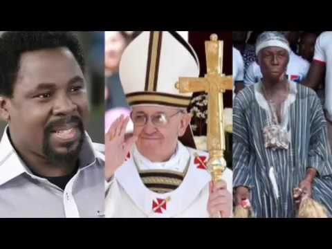 TB Joshua is fake, i will report him to the pope Kwaku Bonsa