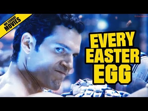 Every Easter Egg in Justice League