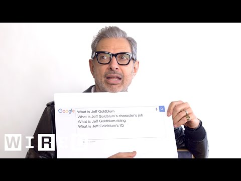 Jeff Goldblum Answers the Web's Most Searched Questions | WIRED - Thời lượng: 5:54.