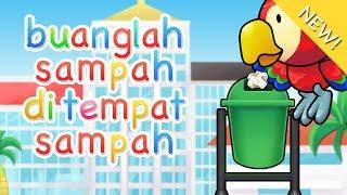 Lagu Anak Indonesia | Buanglah Sampah Di Tempat Sampah Video