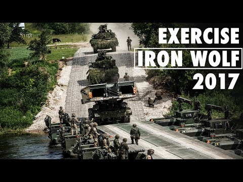 Exercise Iron Wolf: NATO battlegroups ...