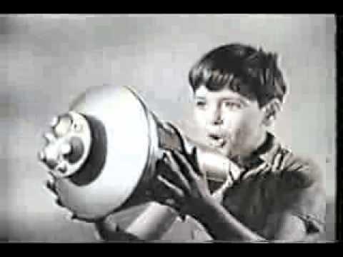 Original Hasbro GI Joe Astronaut TV Commercial 1967-69 Retro Toy Ad Mission Splashdown Space Capsule