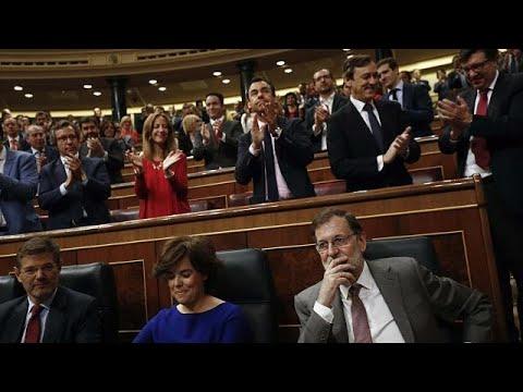 Vor Misstrauensvotum in Spanien: Rajoy greift Sozia ...