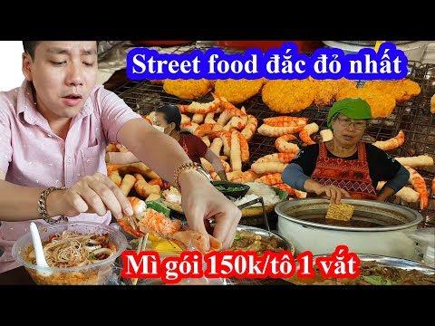 Liều mạng vào khu street food vỉa hè có giá ngang ngửa nhà hàng và cái kết bị chém tô mì gói 150k - Thời lượng: 25 phút.