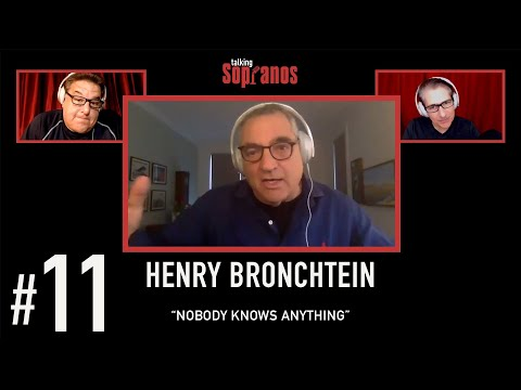 """Talking Sopranos #11 w/guest director Henry Bronchtein """"Nobody Knows Anything"""""""