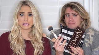 Video HUSBAND BUYS & DOES WIFE'S MAKEUP! (DOES AMAZING) MP3, 3GP, MP4, WEBM, AVI, FLV Juli 2018