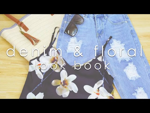 How to Wear Summertime Denim & Floral