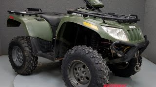 10. 2007  ARCTIC CAT  650 H1 AUTOMATIC  - National Powersports Distributors