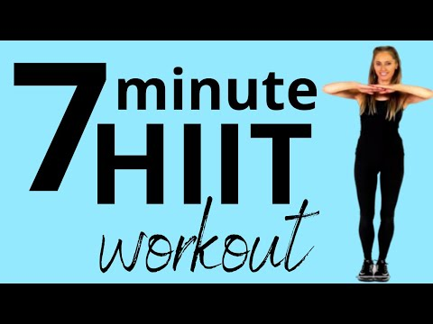 7 MINUTE WORKOUT - 7 DAY CHALLENGE TO INCREASE YOUR FITNESS - HEALTH AND HELP WITH WEIGHT LOSS