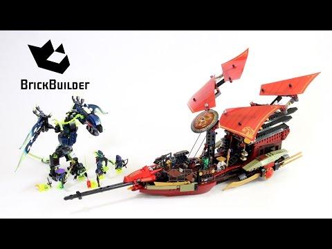 Vidéo LEGO Ninjago 70738 : L'ultime QG des ninjas