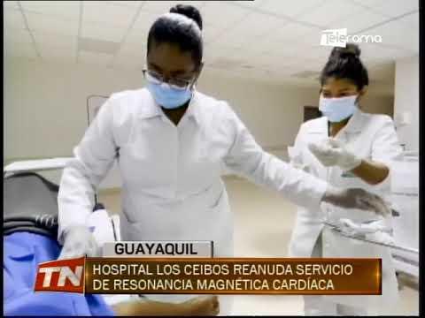 Hospital Los Ceibos reanuda servicio de resonancia magnética cardiaca