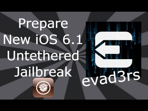 dinod7 - Please Read  NEW Evasi0n iOS 6.1.2 Untethered JAILBREAK For All iDevices (Video Tutorial)http://youtu.be/fc9LxixqM3g  For more updates and help come follow...