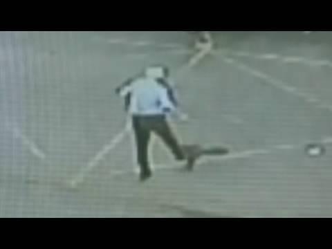 Rabid Fox Attacks man 😮Commentary & Vid😮  ( David Spates )