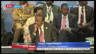 TICAD Conference 27th August 2016 - Regional Presidents Address Delegates