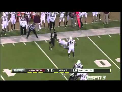 Chris Givens vs Virgina Tech 2011 video.
