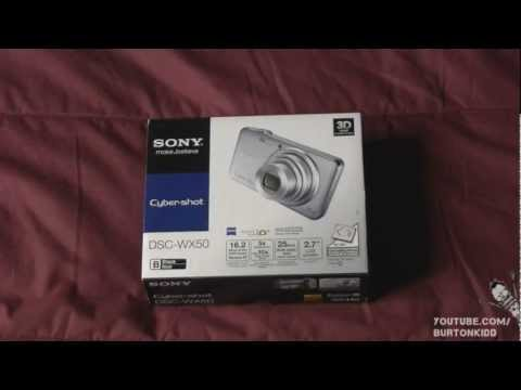 Unboxing & Review - Sony Cybershot DSC-WX50
