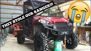 10. THEY STOLE OUR RANGER!!! || What NEW ATV's Should We Get?!
