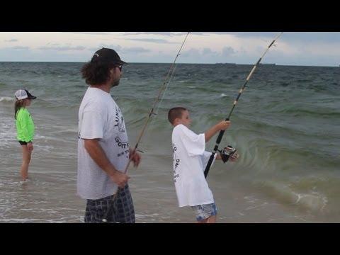 Kid Catches Big Fish, Ft. Lauderdale, FL – Oct 2013