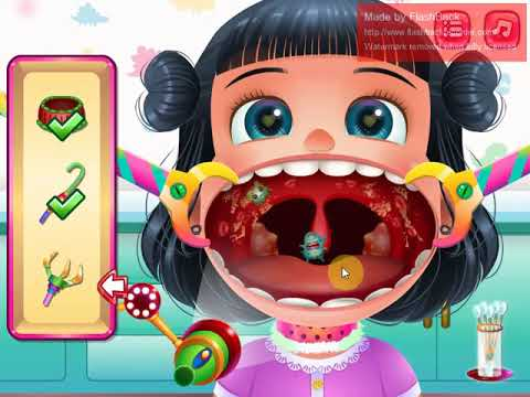 Funny Throat Doctor | Y8 Game | Kid Play