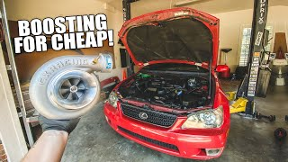 Boosting the IS300 for CHEAP - Pt. 1 (Clean NA-T build) by Evan Shanks