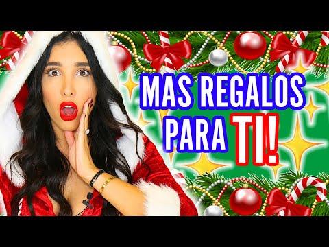 MEGA SORTEO De Navidad PARTE 2!!  3 PREMIOS MÁS! IPHONE 8 MAQUILLAJE Y MÁS #FelizNavidadAmorcitos