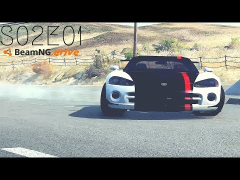 Beamng Drive Movie: Epic Police Convoy Assault (+Sound Effects) |Part 11| - S02E01