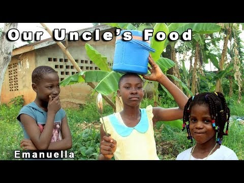 EMANUELLA OUR UNCLE'S FOOD (mark angel comedy) Nigerian Latest Comedy