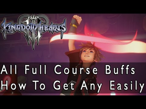 Kingdom Hearts 3 All Cuisine Full Course Bonuses And How To Get Any Of Them Easily