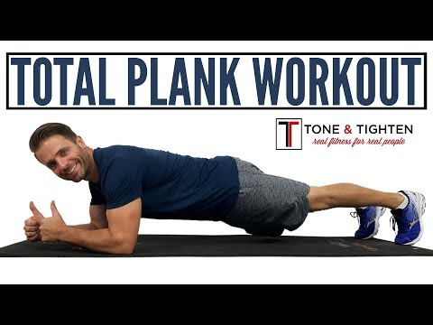 INTENSE Total Plank Workout - 8 minutes for toned abs and a strong core!