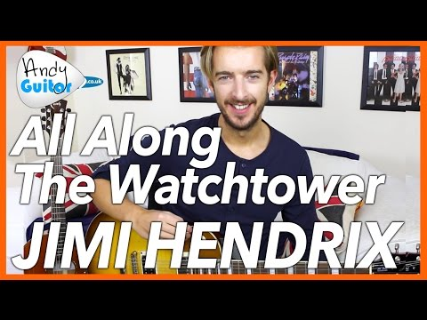 Jimi Hendrix - All Along the Watchtower Guitar Lesson Tutorial