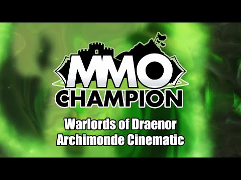 Hellfire Citadel - Archimonde Defeat Cinematic видео