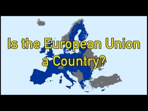 Why Isn't Europe a Country Like America?