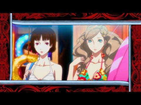 Persona 5 Royal - Summer Vacation Beach Trip Scene [English, PS4 Pro]