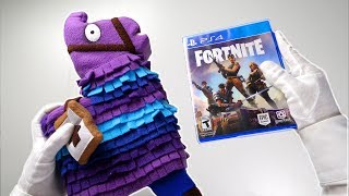 Ultimate FORTNITE Battle Royale Unboxing! (Compilation) Physical Discs, PS4 Pro, Royale Bomber Skin