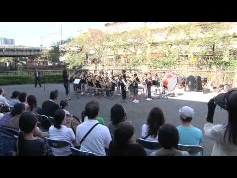 中目黒小学校金管クラブ2011年10月16日 なかめオータムフェスタでの演奏