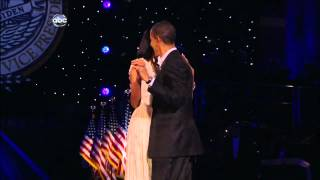 Barack and Michelle Obama Inaugural Dance