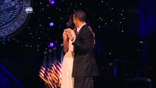 Barack and Michelle Obama Inaugural Dance