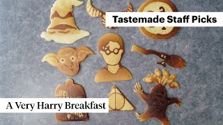 Harry Potter Pancakes Every Wizard in Training Should Have For Breakfast | Tastemade Japan by Tastemade