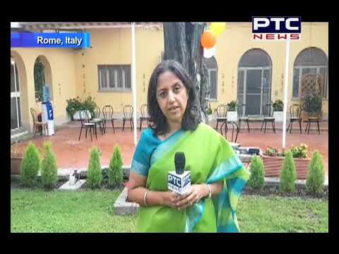 Independence Day Celebrations at Indian Embassy in Rome, Italy