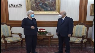 Abdelmadjid Tebboune reçoit  l'ambassadrice de la République fédérale d'Allemagne Ulrike Maria Knotz