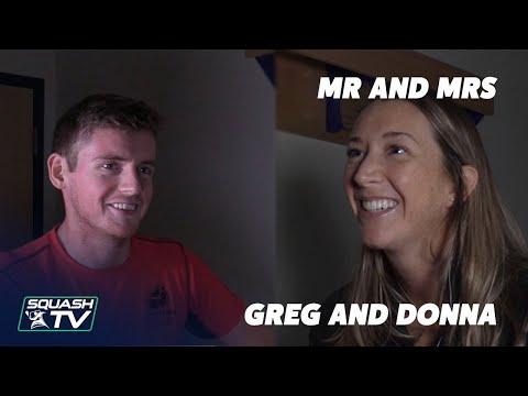 Squash: Mr and Mrs - Greg and Donna Lobban