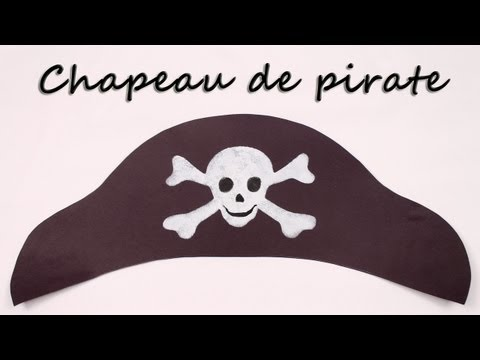 Comment faire un chapeau de pirate