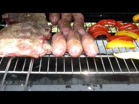Barbecue a gas con cottura dall'alto Speedy Q