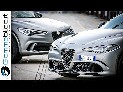 Alfa Romeo Giulia and Stelvio Quadrifoglio