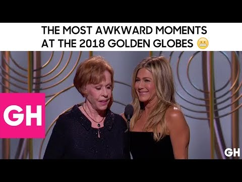 The Most Awkward Moments From the 2018 Golden Globes | GH