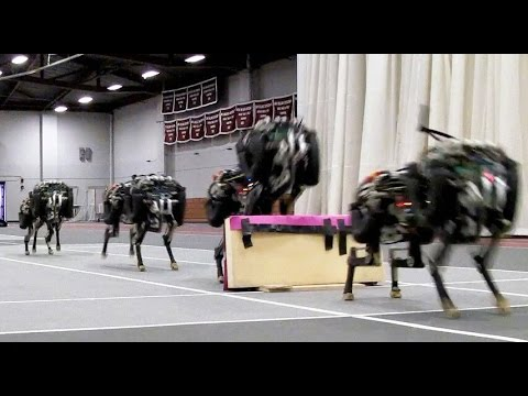 MIT Scientists Train Their FourLegged Cheetah Robot to Jump Over Hurdles as It