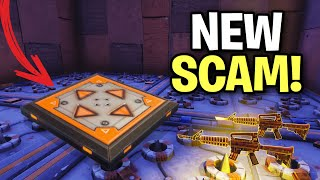 *NEW SCAM* The Jump Pad Trap Scam! (Scammer Get Scammed) Fortnite Save The World